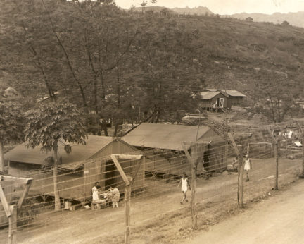 Barracks at Honouliuli Internment Camp, ca. 1945-46