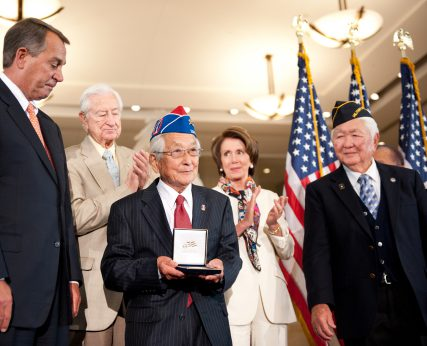 Susumu Ito accepts the Congressional Gold Medal@2x